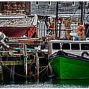 Harbor Dock Art Print