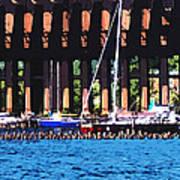 Harbor Docks Art Print