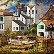 Harbor Houses Art Print