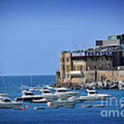Harbor - North Coast Of Spain Art Print