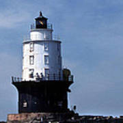 Harbor Of Refuge Lighthouse Art Print