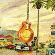 Hard Rock Cafe Las Vegas Art Print