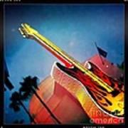 Hard Rock Guitar Art Print