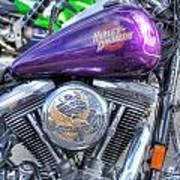 Harley Davidson 3 Art Print