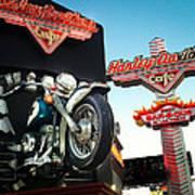 Harley Davidson Cafe Las Vegas Art Print