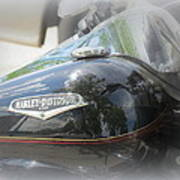 Harley Davidson Emblem Art Print