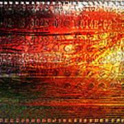 Harmonic Distortion Art Print