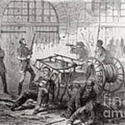 Harpers Ferry Insurrection, 1859 Art Print