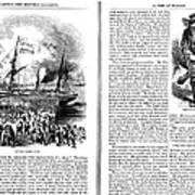 Harpers Magazine, 1861 Art Print