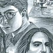 Harry Potter Art Print by Crystal Rosene