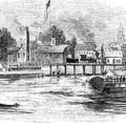 Hartford, 1853 Art Print