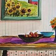 Harvest Table Art Print