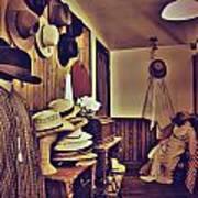 Hat Room Art Print