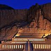 Hatshepsuts Mortuary Temple Rises Art Print