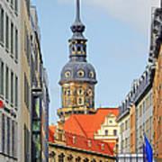 Hausmannsturm - Lookout Of A Castle With Stunning Views Art Print