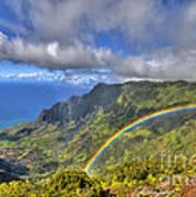 Hawaii Rainbow 2 Art Print