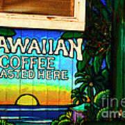 Hawaiian Coffee Art Print