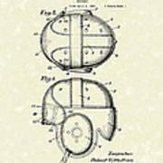 Headgear 1926 Patent Art Art Print by Prior Art Design