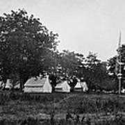Headquarters - Army Of The Potomac - Fairfax Courthouse Virginia 1863 Art Print