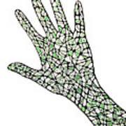 Healing Hands 1 Art Print