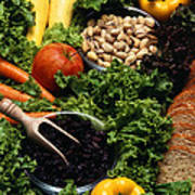 Healthy Foods Art Print