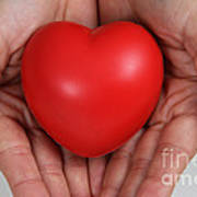Heart Disease Prevention Art Print