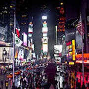 Heart Of Times Square Art Print