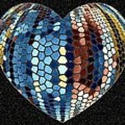 Heartline 4 Art Print
