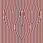 Hearts In Heart   Art Print