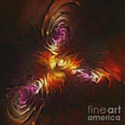 Heat Of Passion Art Print