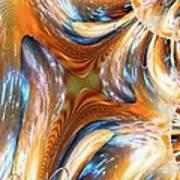 Heatwave Abstract Art Print