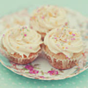 Heavenly Cupcakes Art Print by Karin A photography