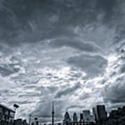 Heavy Sky Art Print by Luba Citrin