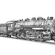 Heavy Steam Switcher 0-10-0 Art Print
