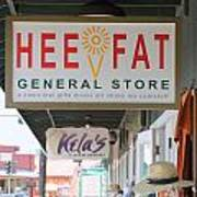Hee Fat General Store Art Print