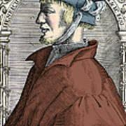 Heinrich Cornelius Agrippa, German Art Print