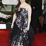Helena Bonham Carter Wearing A Viviene Print by Everett