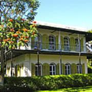 Hemingway's House Art Print