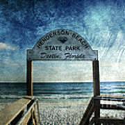 Henderson Beach State Park Florida Art Print
