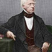 Henry Brougham, Scottish Lawyer Print by Sheila Terry