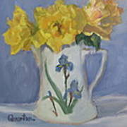 Henry Fonda Roses Art Print