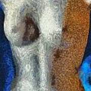 Her Figure 3 Art Print