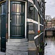 Herengracht 395 Bis. Amsterdam Art Print