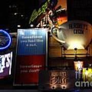 Hershey's At Times Square 85 Art Print by Padamvir Singh