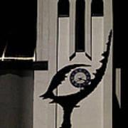 Hevez Church Light And Shadow Art Print