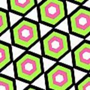 Hexagon Print by Louisa Knight