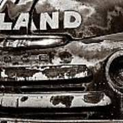 Hi-land  -bw Art Print by Christopher Holmes
