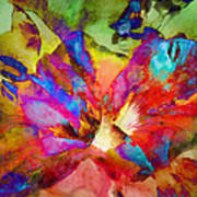 Hibiscus Abstract Art Print