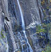 Hickory Nut Falls Chimney Rock State Park Art Print