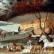 Hicks: Noahs Ark, 1846 Art Print by Granger